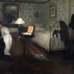 Edgar Degas. Interior, 1868-69. Oil on canvas, cm 81.3 × 114,3. Philadelphia Museum Of Art
