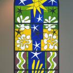 Henri Matisse, Nuit de Noel, 1952. Colored glass, cm. 332,5 x 139. Museum of Modern Art - MoMA, New York. © Succession H. Matisse, c / o Pictoright Amsterdam, 2014