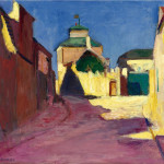 Henri Matisse - Street in Arcueil, 1898 Oil on canvas, cm. 46 x 55. Private collection, New York