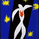 Henri Matisse, The Fall of Icarus, 1943. Gouache on paper, cut and pasted on paper, cm. 36 x 26,5. Private Collection. ©, c / o Pictoright Amsterdam 2014. Photo Alberto Ricci