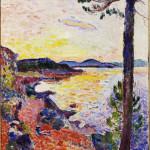 Henri Matisse - The Gulf of Sain Tropez -1904. Oil on canvas, cm. 65 x 50,5. c / o Pictoright Amsterdam, 2014