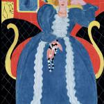 Henri Matisse - Woman in Blue, 1937. Olio su tela, cm. 92,7 x 73,7. © Succession H. Matisse, c / o Pictoright Amsterdam 2014