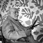 The master Matisse in his studio in Nice. 1952.Photo AFP