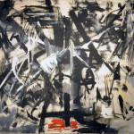 Emilio Vedova. Contemporary Crucifixion Contemporary- Cycle of protest N.4, 1953. Oil on canvas, cm. 130 x 170. GNAM - National Gallery of Modern and Contemporary Art, Rome. Photo: © Katarte.it