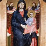 Giotto. Madonna of San Giorgio alla Costa, ca 1295, cm. 180 × 90. Diocesan Museum, Florence