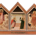 Giotto. Polyptych of Santa Reparata, verso, ca. 1310 Tempera and gold on wood. From the Cathedral of Santa Maria del Fiore. Florence