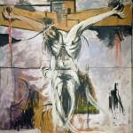Graham Sutherland. Crucifixion Study, 1947. Olio su masonite, cm. 97 x 118. Vatican City, Vatican museums - Direction of Museums. Photo: © Katarte.net