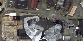 Nuart festival - Ella & Pitr paint the largest mural in the world