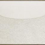 Alberto Burri. Large White, 1974. Acrylic and PVA on Cellotex, cm. 126 x 211. Palazzo Albizzini Foundation, Burri Collection, Città di Castello, Italy