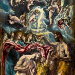 El Greco - Baptism of Christ, 1597-1600
