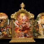 El Greco - portable altarpiece, 1567-1568