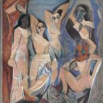Picasso - Mademoiselle d'avignon, 1958.