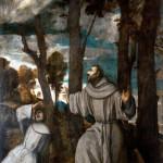 Tiziano Vecellio - St. Francis receives the Stigmata, 1525