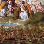 Paolo Caliari (Veronese) - Allegory of the Battle of Lepanto, 1572-1573