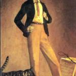 Balthus. The King of cats, 1935. Oil on canvas, cm. 71 x 48. Private collection, © Balthus © Mondadori Portfolio/Bridgeman Images