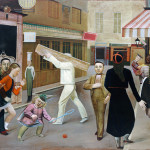 Balthus. The Street, 1933. Oil on canvas, cm. 195 x 240. The Museum of Modern Art, New York, James Thrall Soby Bequest, 1979