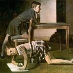 Balthus. The cildrens Blanchard', 1937. Oil on canvas. National Museum Picasso, Paris © Balthus