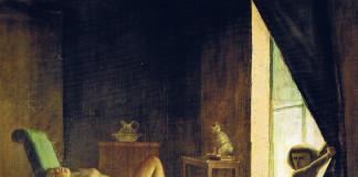 Balthus. The room, 1952 (detail) - 1954. Oil on canvas, cm. 270.5 X 335. Private collection © Balthus © Mondadori Portfolio / Bridgeman Images