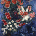 Marc Chagall. The Lovers, 1937. Oil on canvas, cm. 108 x 85. Gift of Charles Bronfman from the collection of Chagall Sayde Bronfman © ® by SIAE 2015
