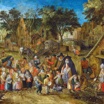 Pieter Brueghel the Younger. The Bride of Pentecost, 1620 -23