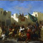 Eugène Delacroix. Convulsionists of Tangier 1837-38. Oil on canvas, cm. 97.8 x 131.3. © The Minneapolis Institute of Art