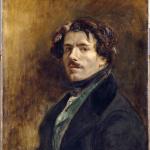 Eugène Delacroix. Self Portrait, about 1837. Oil on canvas, cm. 65 x 54.5. Louvre museum, Paris © RMN-Grand Palais / Jean-Gilles Berizzi