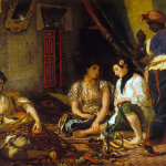 Eugène Delacroix. Women of Algiers in their Apartment, 1847-49. Oil on canvas, cm. 85 x 112. Musee Fabre, Montpellier. © Musee Fabre, Montpellier Agglomeration