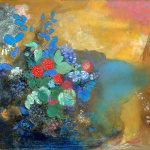 Eugène Delacroix. Odilon Redon. Ophelia among the Flowers, about 1905-10. Pastel on paper, cm. 64 x 91. © The National Gallery, London, Bought with a contribution from The Art Fund