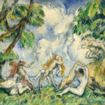 Eugène Delacroix. Paul Cézanne. The battle of love, 1880 ca. Oil on canvas. Gift W. Averell Harriman Foundation in memory of Marie N. Harriman