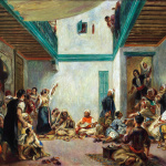 Pierre-Auguste Renoir. The Jewish Wedding in Morocco (after Delacroix), about 1875. Oil on canvas, cm. 108.7 x 144.9. © Worcester Art Museum, Worcester, Massachusetts Museum Purchase 1943. Eugène Delacroix.