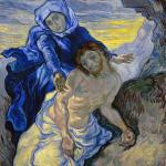 Eugène Delacroix. Vincent van Gogh. Pietà (after Delacroix), 1889. Oil on canvas, cm. 73 x 60.5. © Van Gogh Museum (Vincent Van Gogh Foundation), Amsterdam
