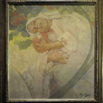 Alfons Mucha - Mother and son - Photo Katarte