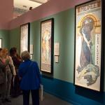 Alfons Mucha - Exhibition at Vittoriano - Rome, Italy - photo Katarte