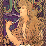 Alphonse Mucha - Job Cigarettes