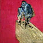 Francis Bacon. Study for chimpanzees, 1957. Oil and pastel on canvas, cm 152.4 x 117. Peggy Guggenheim Collection, Venice / Ph. David Heald © The Estate of Francis Bacon / All rights reserved / by SIAE 2016