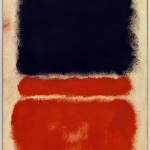 Mark Rothko. Untitled (Red), 1968. Acrylic on paper mounted on canvas, cm 83.8 x 65.4. Venice, Solomon R. Guggenheim Foundation, Collection, bequest Hannelore B. Schulhof, 2012