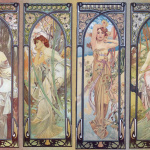 Alfons Mucha - Times of day - 1899